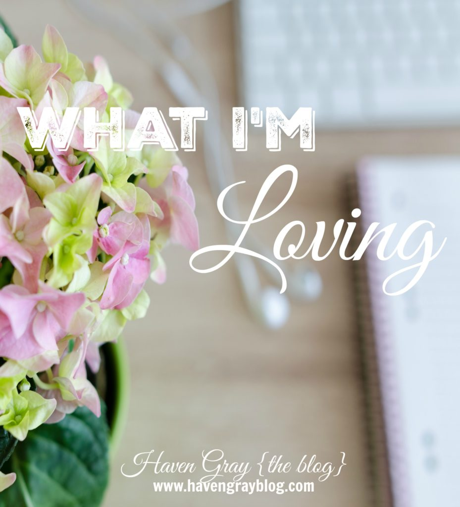 What I'm Loving {4} | Haven Gray {the blog}