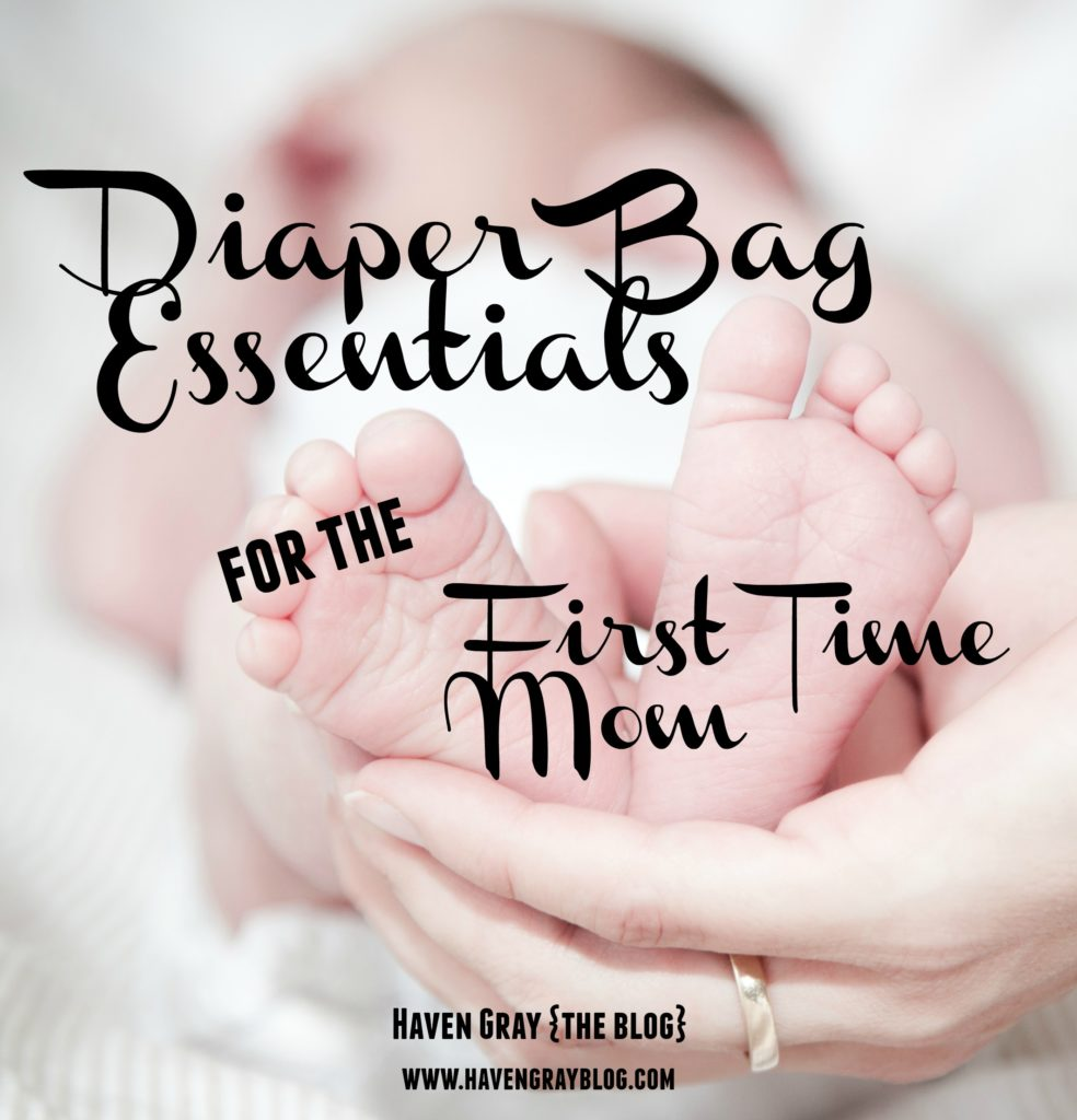 Diaper Bag Essentials | Haven Gray {the blog}