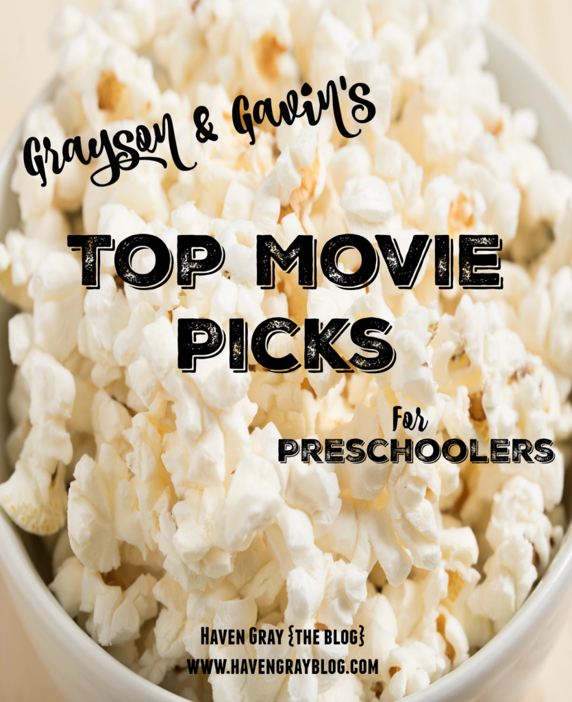 Top Movie Picks for Preschoolers - Haven Gray {the blog}